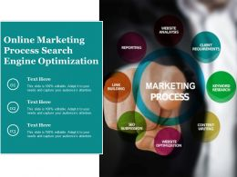 Online Marketing Process Search Engine Optimization