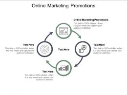 Online Marketing Promotions Ppt Powerpoint Presentation Inspiration Example Topics Cpb