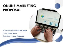 Online Marketing Proposal Powerpoint Presentation Slides