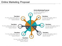 Online Marketing Proposal Ppt Powerpoint Presentation Gallery Graphics Cpb