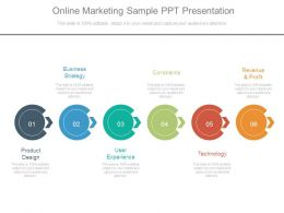 Online Marketing Sample Ppt Presentation