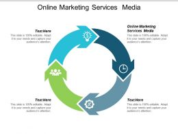 Online Marketing Services Media Ppt Powerpoint Presentation Icon Guidelines Cpb