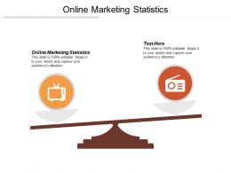 Online Marketing Statistics Ppt Powerpoint Presentation Gallery Clipart Cpb