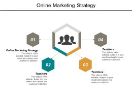 Online Marketing Strategy Ppt Powerpoint Presentation File Sample Cpb