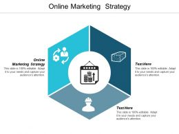 Online Marketing Strategy Ppt Powerpoint Presentation Styles Graphics Download Cpb