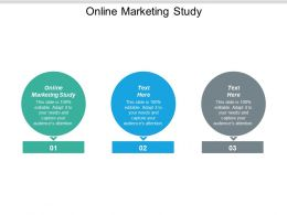 Online Marketing Study Ppt Powerpoint Presentation Styles Graphics Example Cpb