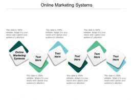 Online Marketing Systems Ppt Powerpoint Presentation Ideas Information Cpb