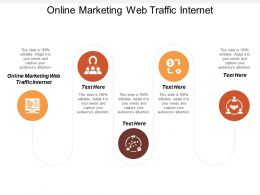 Online Marketing Web Traffic Internet Ppt Powerpoint Presentation Infographics Portrait Cpb