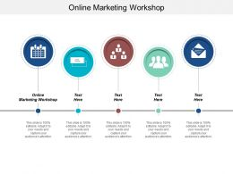 Online Marketing Workshop Ppt Powerpoint Presentation Ideas Demonstration Cpb