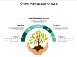 Online Marketplace Analysis Ppt Powerpoint Presentation Show Mockup Cpb