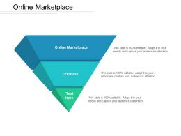Online Marketplace Ppt Powerpoint Presentation Icon Show Cpb