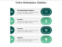 Online Marketplace Statistics Ppt Powerpoint Presentation File Slideshow Cpb