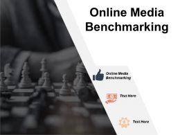 Online Media Benchmarking Ppt Powerpoint Presentation File Microsoft Cpb