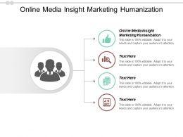 Online Media Insight Marketing Humanization Ppt Powerpoint Presentation Icon Maker Cpb
