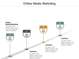 Online Media Marketing Ppt Powerpoint Presentation Summary Clipart Images Cpb