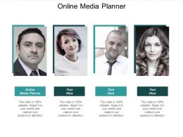 Online Media Planner Ppt Powerpoint Presentation Gallery Themes Cpb
