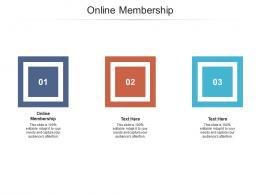 Online Membership Ppt Powerpoint Presentation Slides Inspiration Cpb