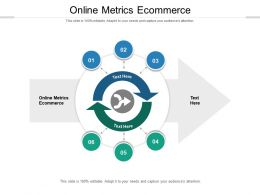 Online Metrics Ecommerce Ppt Powerpoint Presentation Inspiration Cpb