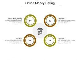 Online Money Saving Ppt Powerpoint Presentation File Design Ideas Cpb