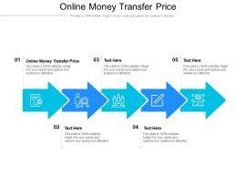 Online Money Transfer Price Ppt Powerpoint Presentation Inspiration Icon Cpb