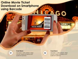 Online Movie Ticket Download On Smartphone Using Barcode