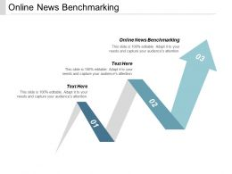 Online News Benchmarking Ppt Powerpoint Presentation Show Summary Cpb