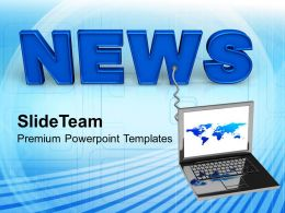 Online News Internet Technology Powerpoint Templates Ppt Themes And Graphics 0113