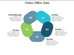 Online Offline Data Ppt Powerpoint Presentation Infographic Template Icon Cpb