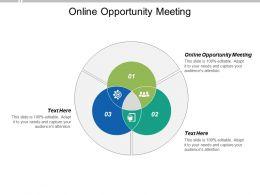 Online Opportunity Meeting Ppt Powerpoint Presentation Portfolio Gridlines Cpb