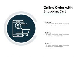 Online Order With Shopping Cart