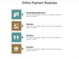 Online Payment Business Ppt Powerpoint Presentation File Portfolio Cpb