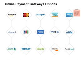 Online Payment Gateways Options Anaylsis Ppt Powerpoint Presentation Summary Example