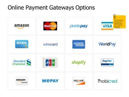 Online Payment Gateways Options Social Ppt Powerpoint Presentation File Pictures