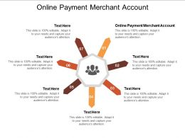 Online Payment Merchant Account Ppt Powerpoint Presentation Icon Designs Download Cpb
