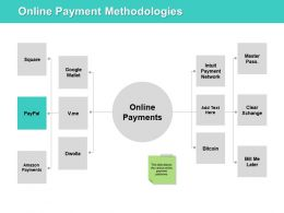 Online Payment Methodologies Ppt Powerpoint Presentation File Rules