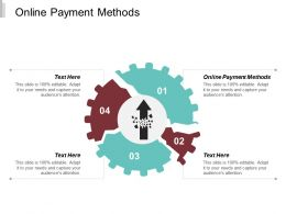 Online Payment Methods Ppt Powerpoint Presentation Slides Ideas Cpb