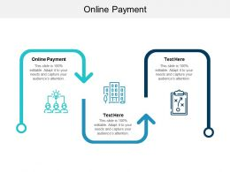 Online Payment Ppt Powerpoint Presentation Ideas Layout Ideas Cpb