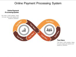 Online Payment Processing System Ppt Powerpoint Presentation Summary Visual Aids Cpb