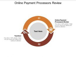 Online Payment Processors Review Ppt Powerpoint Presentation Slides Tips Cpb