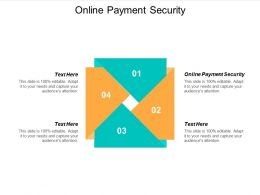 Online Payment Security Ppt Powerpoint Presentation Show Visuals Cpb
