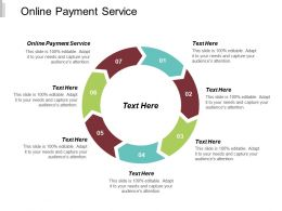 Online Payment Service Ppt Powerpoint Presentation Slides Images Cpb