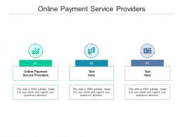 Online Payment Service Providers Ppt Powerpoint Presentation Diagram Ppt Cpb