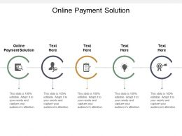Online Payment Solution Ppt Powerpoint Presentation File Show Cpb