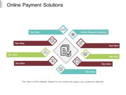 Online Payment Solutions Ppt Powerpoint Presentation Slides Information Cpb