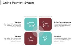 Online Payment System Ppt Powerpoint Presentation Slides Layout Cpb