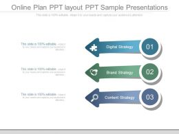 Online Plan Ppt Layout Ppt Sample Presentations