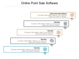 Online Point Sale Software Ppt Powerpoint Presentation Infographics Show Cpb