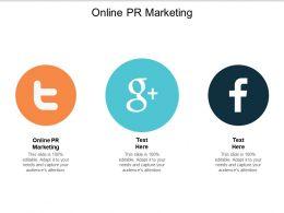 Online PR Marketing Ppt Powerpoint Presentation File Layout Ideas Cpb