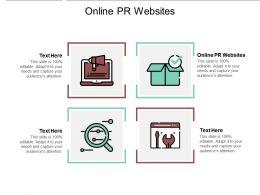 Online Pr Websites Online Marketing Tips Ppt Powerpoint Presentation Slide Download Cpb
