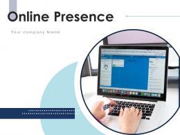 Online Presence Business Marketing Strategy Employee Presence Informative Representing